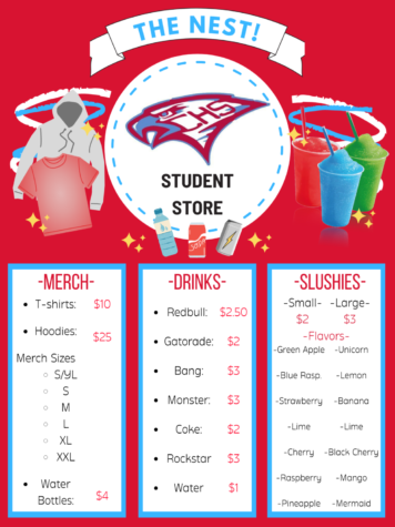 Student Store - The Nest!